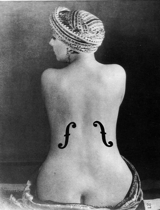 ManRay-Le-Violin-dIngres-1924